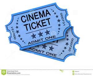 Old Cinema Ticket