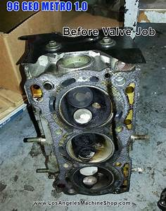 96 Geo Metro 1 0 3cyl Before Valve Job