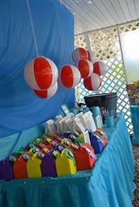 The Beach Birthday Party Ideas   Photo 10 of 70   Catch My ...