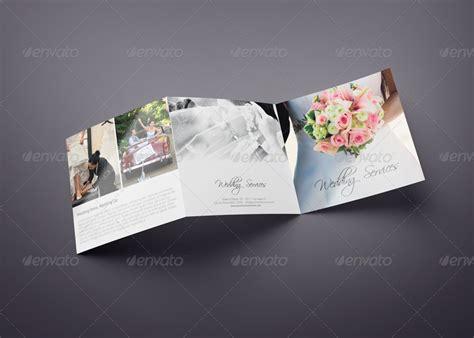 square trifold wedding brochure  webnovo graphicriver