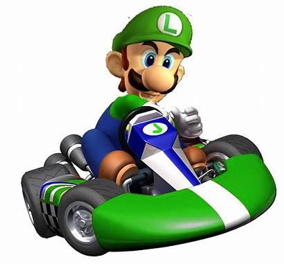 Mario Kart Luigi Super Wii Bros Transparent