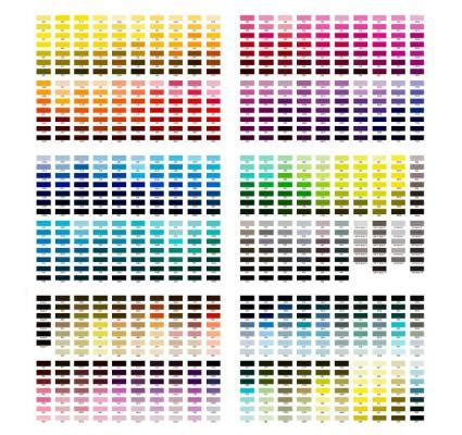color reference paint color chart lovetoknow