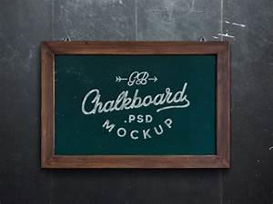 Chalkboard, Mockup, Psd