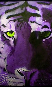 Tiger Eyes | An acrylic painting I did on canvas | Aaron ...