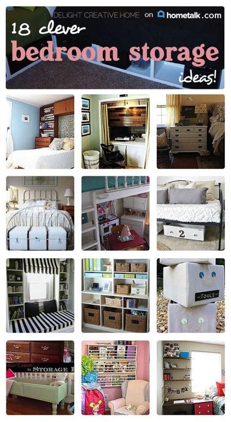 creative storage for small bedrooms clever bedroom storage ideas idea box by delight creative 18581   3b421e957ba95fc7702859e556430167