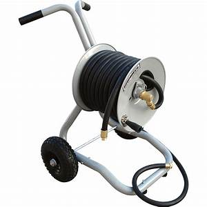 Product  Roughneck Garden Hose Reel With Cart  U2014 Holds