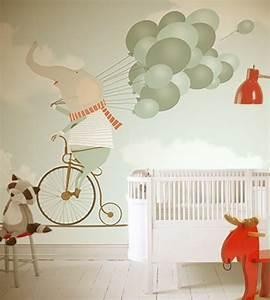 Tapeten Für Kinderzimmer Mädchen : tapeten kinderzimmer passende farben und motive ausw hlen ~ Michelbontemps.com Haus und Dekorationen