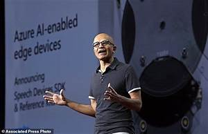 The Latest: Microsoft CEO says 'privacy is a human right ...