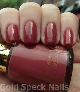Gold Speck Nails Revlon Teak Rose Swatches