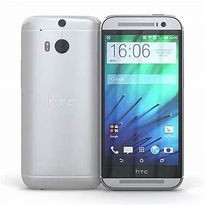 HTC One M8 32GB 4G LTE Phone for ATT Wireless in Silver ...
