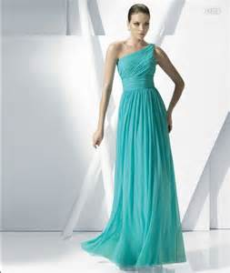 teal blue bridesmaid dresses a line chiffon teal blue color one shoulder wedding dresses bridesmaid dress in stock made jpg