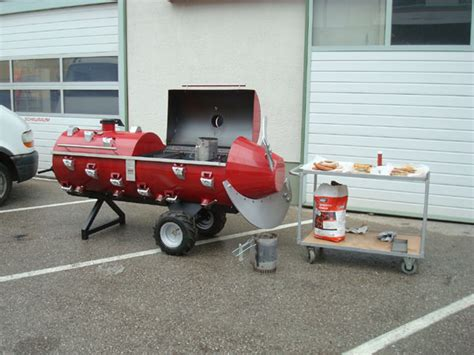fabriquer un barbecue avec un chauffe eau