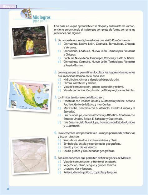 Accede al archivo haciendo clic en el siguiente enlace Libro De Geografia 4 Grado 2018 - Libros Favorito