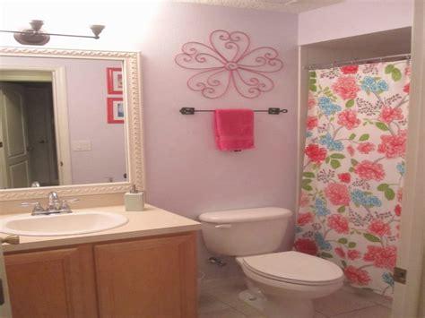Bathroom Inspirational Girls Bathroom Decor  Girl With