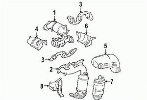 2004 Toyota Sienna Parts Diagram