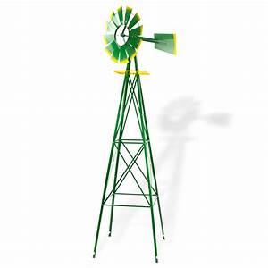 Windrad Für Den Garten : windrad gartenwindrad windm hle deko garten windspiel 550mm gr n ~ Eleganceandgraceweddings.com Haus und Dekorationen