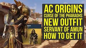 Assassin's Creed Origins Curse of the Pharaohs NEW OUTFIT ...