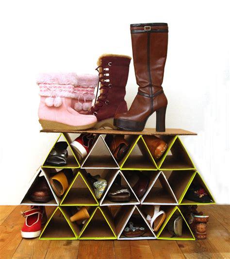 diy shoe rack ideas   shoe collection neat  tidy home  gardening ideas