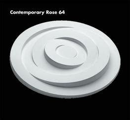 Contemporary Ceiling Roses By Uk Home Interiors