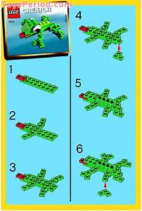Lego 7804 Green Lizard Set Parts Inventory And