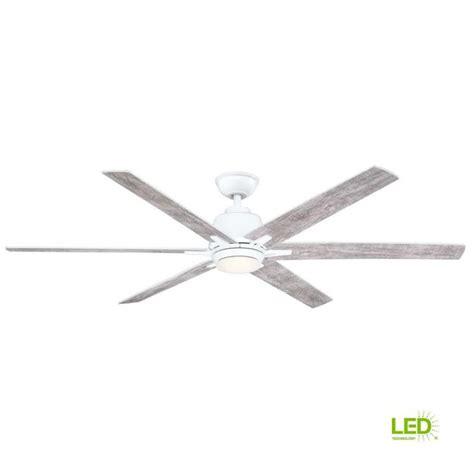 home decorators kensgrove  led white ceiling fan