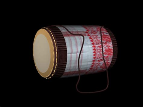 assamese tradition dhol musical instrument max ds max