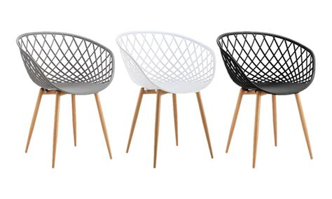 chaise cuisine noir chaise scandinave groupon
