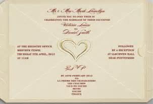how to make your own wedding invitations wedding invitations cards sles iidaemilia