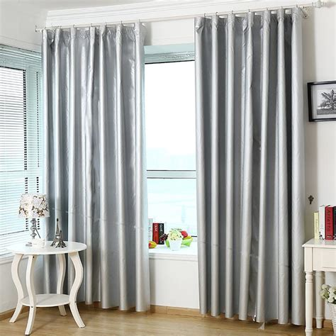 light gray blackout curtains shop popular light grey