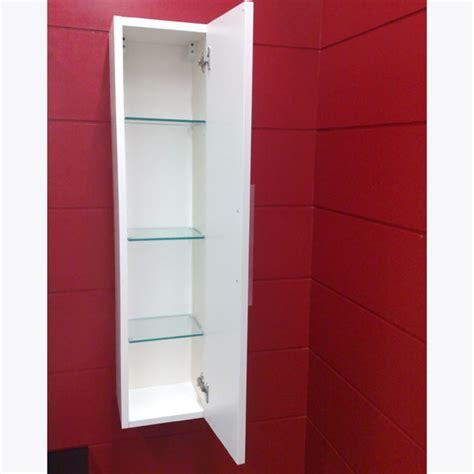 colonne de salle de bain 181x34 cm laqu 233 brillant blanc lasa idea sdebain