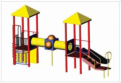 Playground Drawing Play Shapes Playgrounds 3d Sportsplay