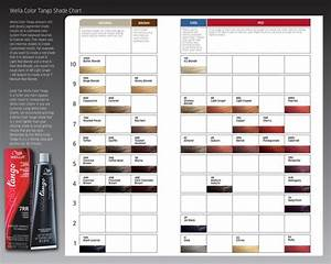 Wella Hair Color Chart Wella Color Tango Shade Chart Kleuren