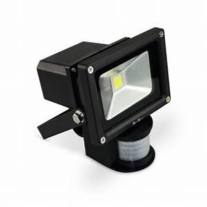 Projecteur Led Exterieur Puissant : projecteur tr s puissant 10w led solaire 900 lumens blanc froid d tecteur de mouvements ~ Nature-et-papiers.com Idées de Décoration
