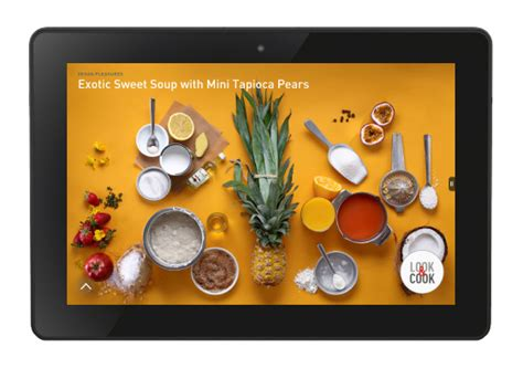 cuisine tv food tech connect look cook partners with amazon tv