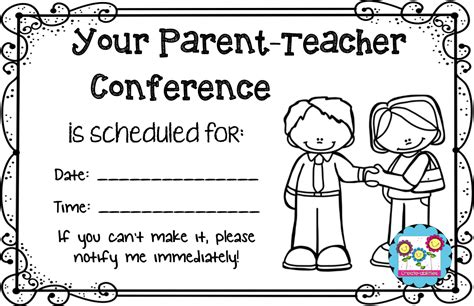 parent teacher conference for preschool form parent conference forms with pictures 862