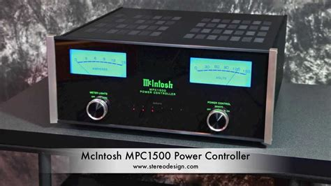 Stereo Design McIntosh MPC1500 Power Conditioner in HD ...