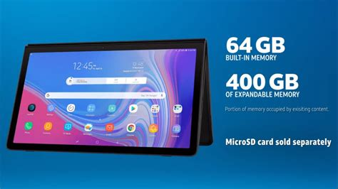 samsung galaxy view 2 with 3 inch display 12 000mah battery launched price specifications