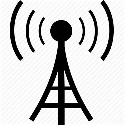 Tower Icon Radio Cell Network Signal Mobile