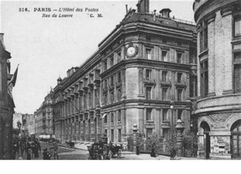 bureau de poste rue du louvre dominique perrault le cachet de la poste faisant foi d