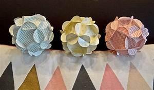 Boule Papier Deco : boule papier d co ~ Teatrodelosmanantiales.com Idées de Décoration
