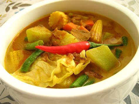 resep masakan sayur lodeh spesial youtube