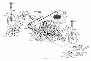 Dixon Ztr 542  1992  Parts Diagram For Fuel  U0026 Hydraulics Tanks  U0026 Fittings Assembly