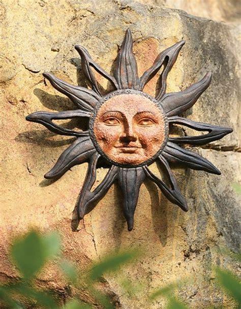 Sun Face Celestial Rust Free Cast Aluminum Indoor Outdoor ...