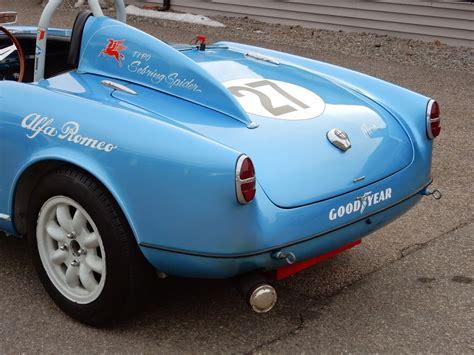 1956 Alfa Romeo Giulietta Spyder  Copley Motorcars