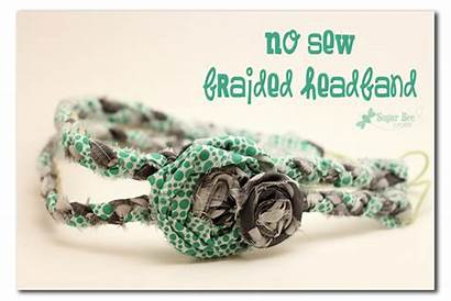Sew Headband Braided Crafts Craft Camp Headbands