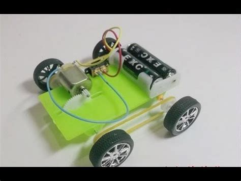 Electric Motor Experiment by How To Build A Simple Car Robot Electric Motor Hd