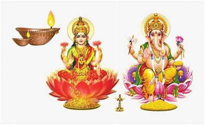 Laxmi Ganesh Diwali God Clipart Transparent Clipartkey