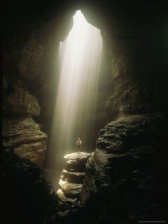 the cave and the light the hole