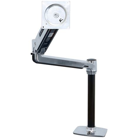 Ergotron Lx Desk Mount Lcd Arm by Ergotron Lx Hd Sit Stand Desk Mount Lcd Arm 45 384 026 B H
