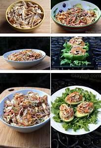 Salade Poulet Avocat : salade d 39 avocats garnis de dinde ou de poulet recettes ~ Melissatoandfro.com Idées de Décoration